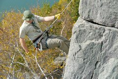 Rock Climbing Photo: Rappel on East Bluff