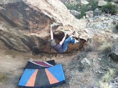 Rock Climbing Photo: Working A Million Miles....