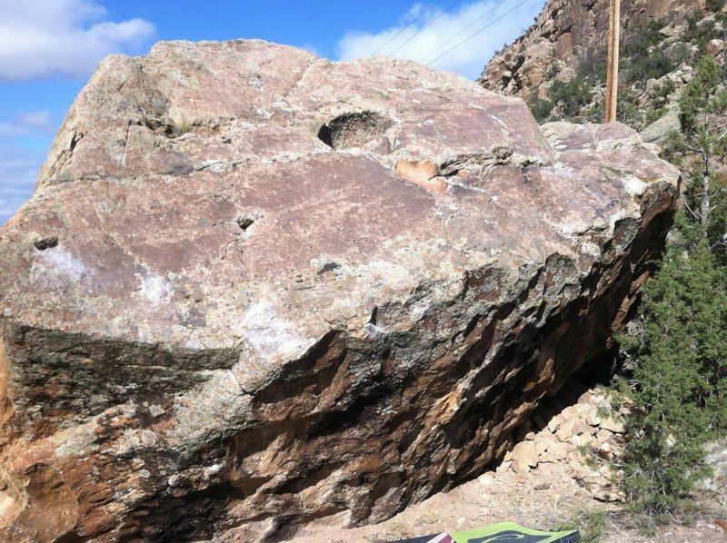 1014 Boulder's south face.