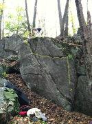 Rock Climbing Photo: Backdive