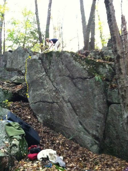 Rock Climbing Photo: Electric Eel