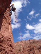 Rock Climbing Photo: J. Aslaksen starting P2