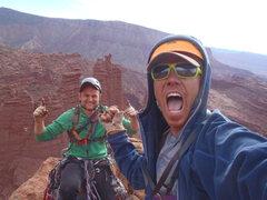 Rock Climbing Photo: Summit of Citadel