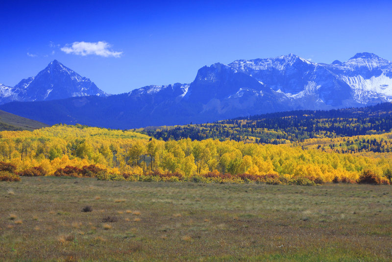 Rock Climbing Photo: Fall in the Sneffels range.