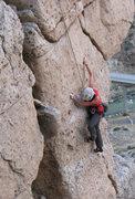 Rock Climbing Photo: Be Sexy, Drink Pepsi: Beautiful, unusual route.