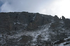 Rock Climbing Photo: Unknown ice on Thatchtop, anyone know what route t...