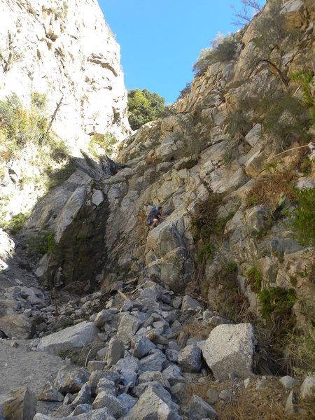 Rock Climbing Photo: BW