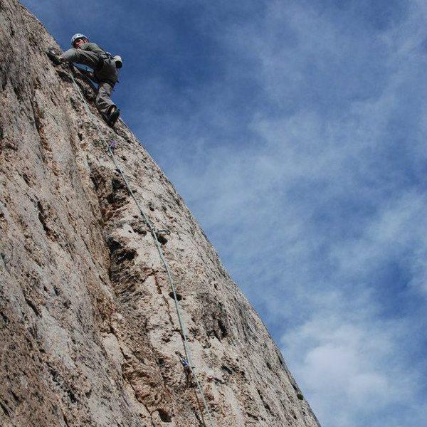 Rock Climbing Photo: Wild Iris, Dynamitic 5.7