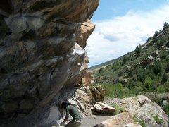 Rock Climbing Photo: Safe landing.