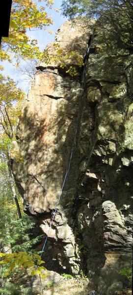Rock Climbing Photo: A shot of the full climb