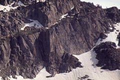Rock Climbing Photo: We climbed the center of the face to the right of ...