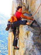 Rock Climbing Photo: AstroSue!