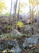 Rock Climbing Photo: View from the approach trail