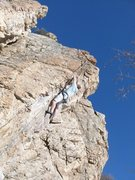 Rock Climbing Photo: The Bulge 11b Rock Canyon