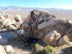 Rock Climbing Photo: Jordini headin up