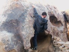 Rock Climbing Photo: Just got into the bowl with Big Features, then &qu...