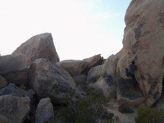 Rock Climbing Photo: Starting this monstrosity