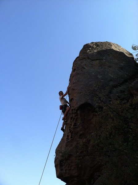 "Rock Climbing Photo: Amber on ""Apes in Estrus""."