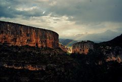 Rock Climbing Photo: My favorite place to climb near Valencia is Chulil...