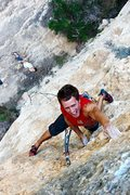 Rock Climbing Photo: Climbing some hard 8b+ in Margalef