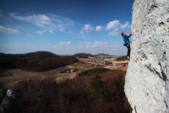 Rock Climbing Photo: Beautiful Polish landscape. If only the season was...