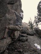 """Rock Climbing Photo: """"Ear Shot""""."""