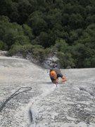 Rock Climbing Photo: Jim cranking hard