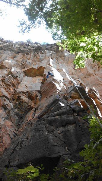 Rock Climbing Photo: Dave TRing