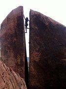 Rock Climbing Photo: Sonny on Plumber's Crack