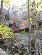 Rock Climbing Photo: Superslab
