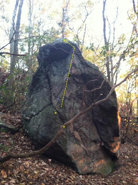 Rock Climbing Photo: Fallen Prey