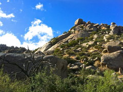 Rock Climbing Photo: The Girlie Man area is most easily identified by t...