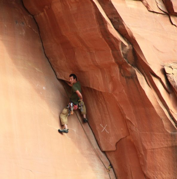 Rock Climbing Photo: Chest Full of Kind (IC 5.10)