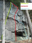 Rock Climbing Photo: Beta for Fluffy Bunny