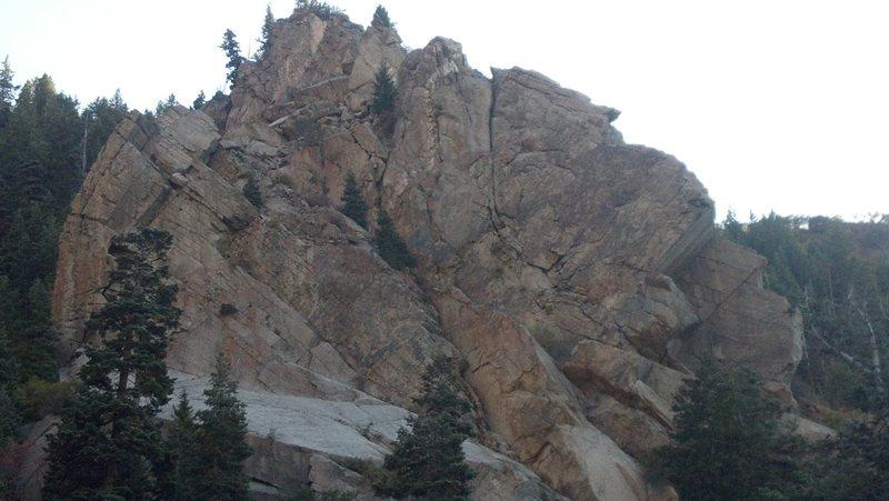 Rock Climbing Photo: Twilight Buttress