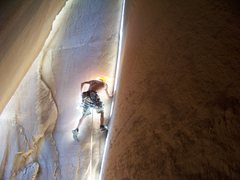 Rock Climbing Photo: Cave Route