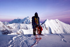 Rock Climbing Photo: West Rib, Denali, Alaska, May 1979 B.G. (Before Go...
