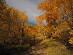 Rock Climbing Photo: A morning hike out from Dinosaur Mountain to the D...