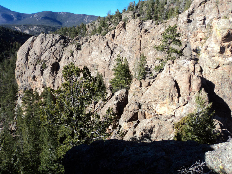 Rock Climbing Photo: Third Pew left side.