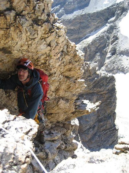 climbing the Grand Teton, Petzoldt Ridge