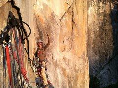 Rock Climbing Photo: Richard Dana is loving the climb!