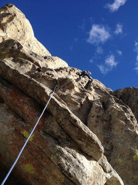Rock Climbing Photo: one fun ride