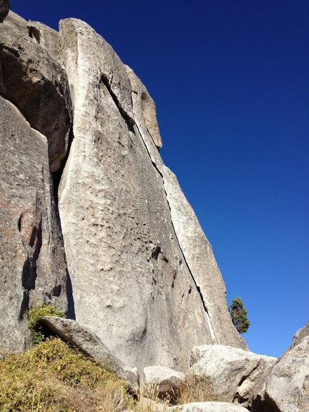 Rock Climbing Photo: more flake