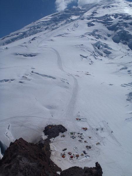 Mt Rainier Camp Shurman July 2012