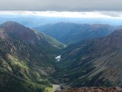 Rock Climbing Photo: looking over crater and maroon lake