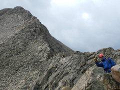 Rock Climbing Photo: nolan and the ridge