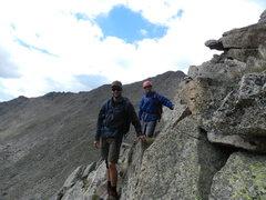 Rock Climbing Photo: dustin and nolan