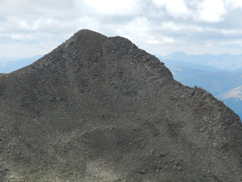 Rock Climbing Photo: Mt Bierstadt