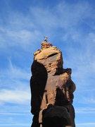 Rock Climbing Photo: top shot