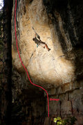 Rock Climbing Photo: Beta photo. The climber is on Alice.